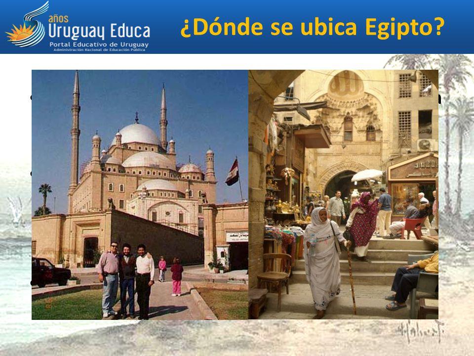 ¿Dónde se ubica Egipto La actual república árabe de Egipto se encuentra en el norte de África y ocupa la mayor parte del Egipto antiguo.