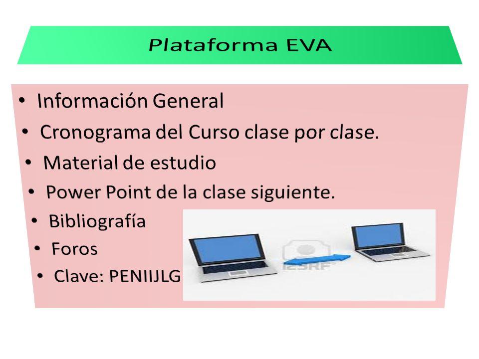 Plataforma EVA Información General
