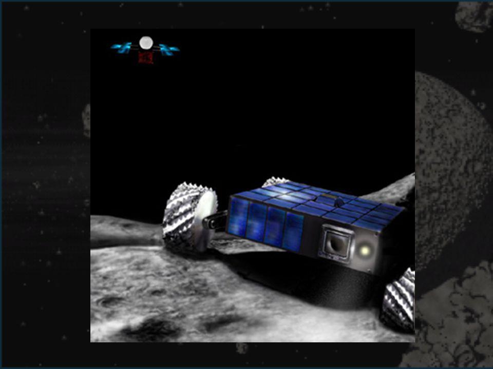 La sonda llevará un pequeño vehículo (rover) que explorará la superficie y tomará fotos del terreno