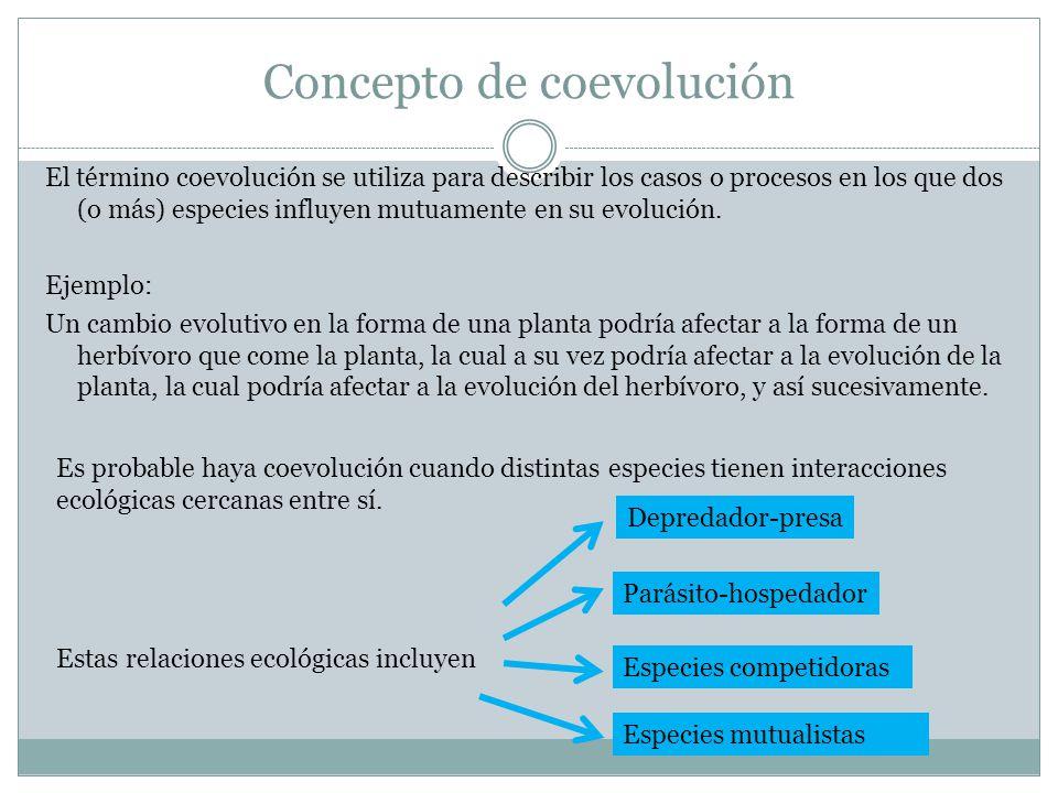Concepto de coevolución