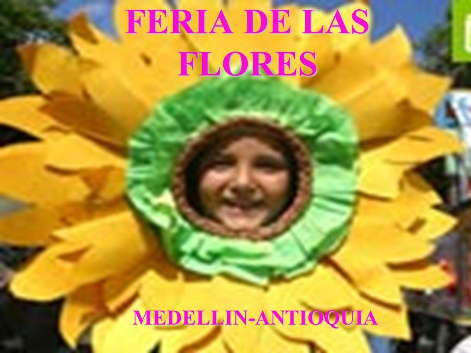 FERIA DE LAS FLORES MEDELLIN-ANTIOQUIA