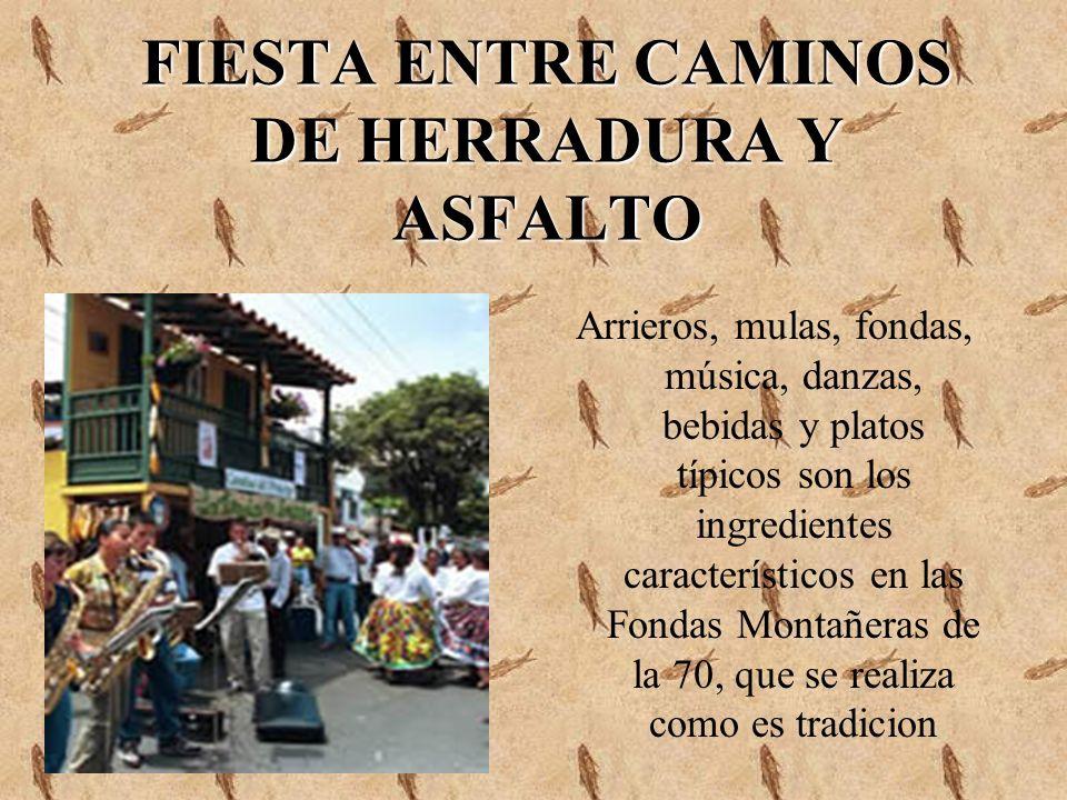 FIESTA ENTRE CAMINOS DE HERRADURA Y ASFALTO