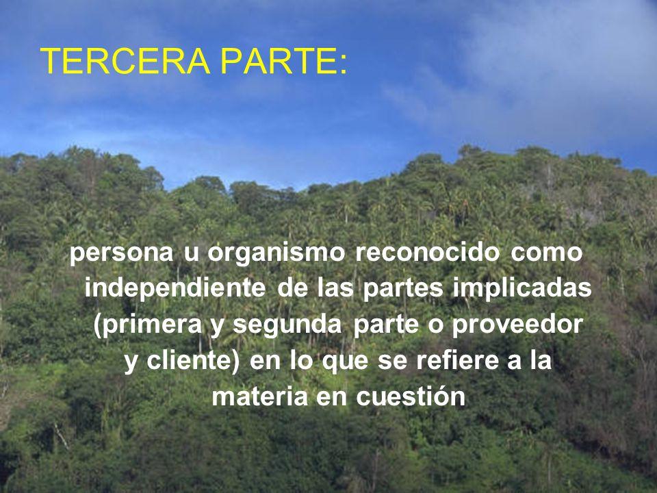 TERCERA PARTE: