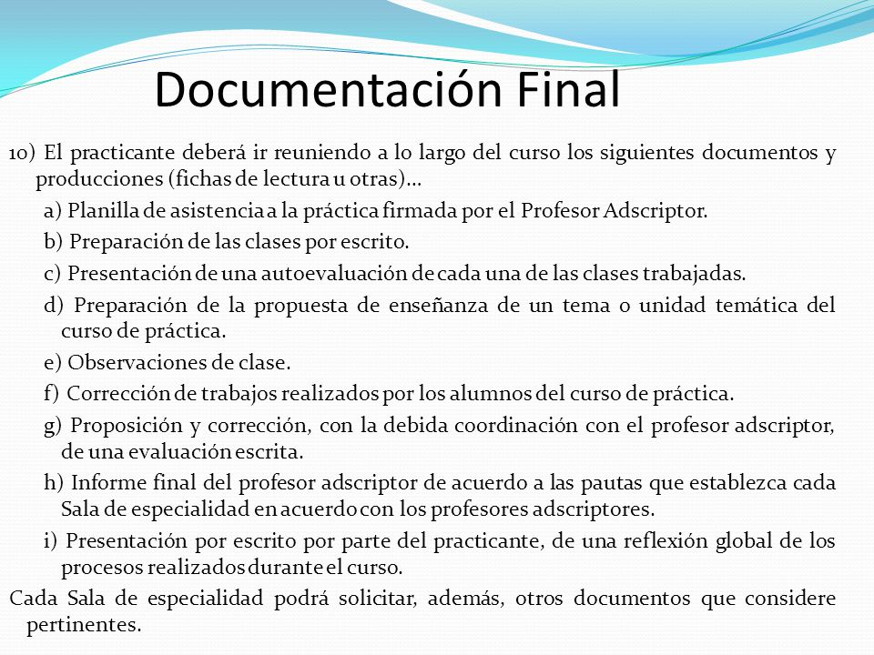 Documentación Final