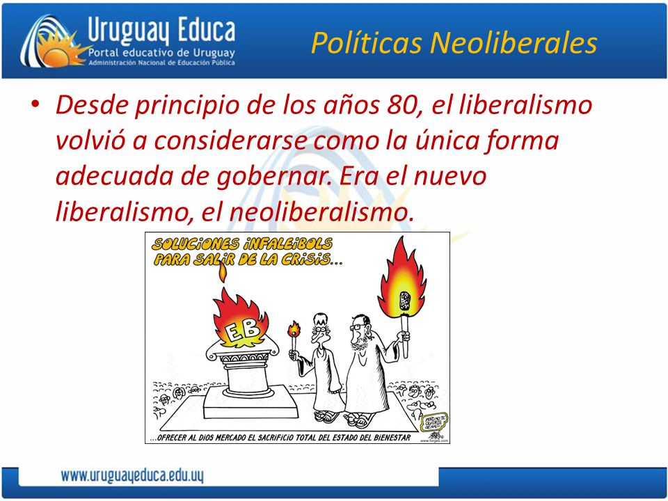 Políticas Neoliberales