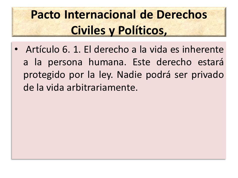 Pacto Internacional de Derechos Civiles y Políticos,