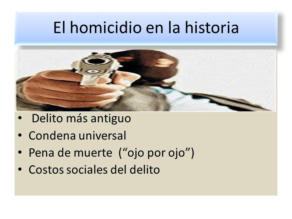El homicidio en la historia