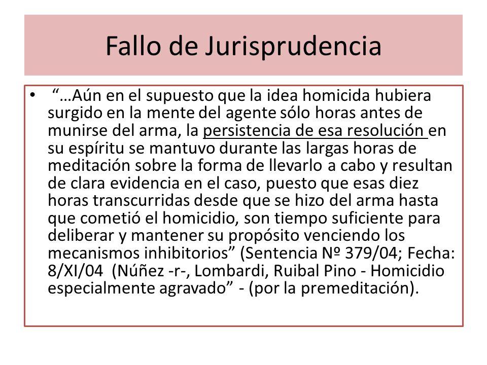 Fallo de Jurisprudencia