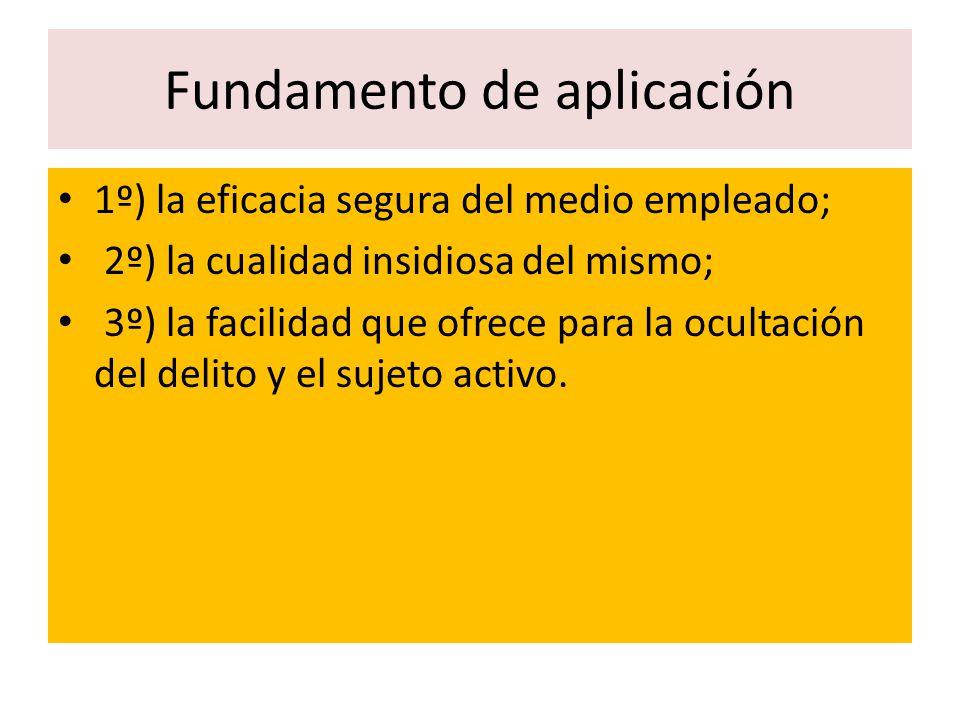Fundamento de aplicación