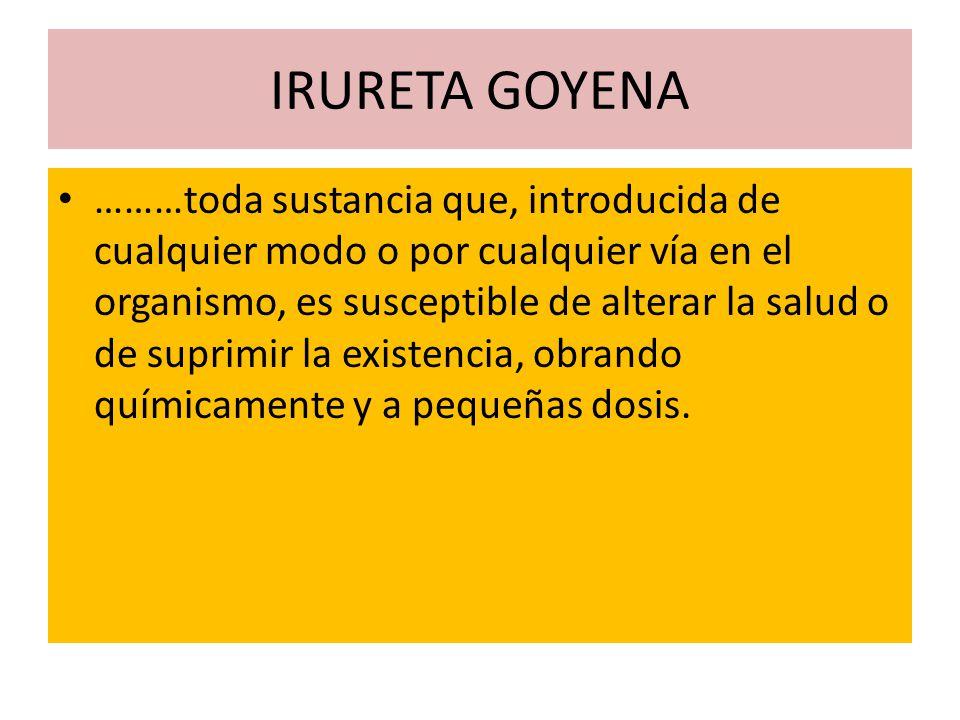 IRURETA GOYENA