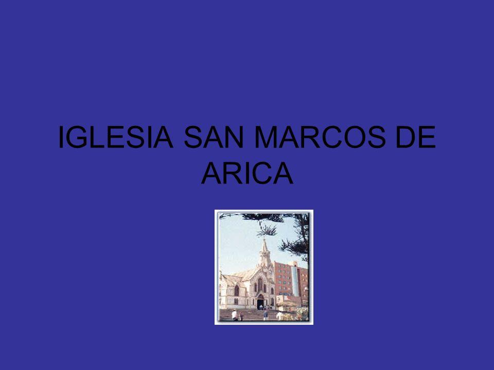 IGLESIA SAN MARCOS DE ARICA