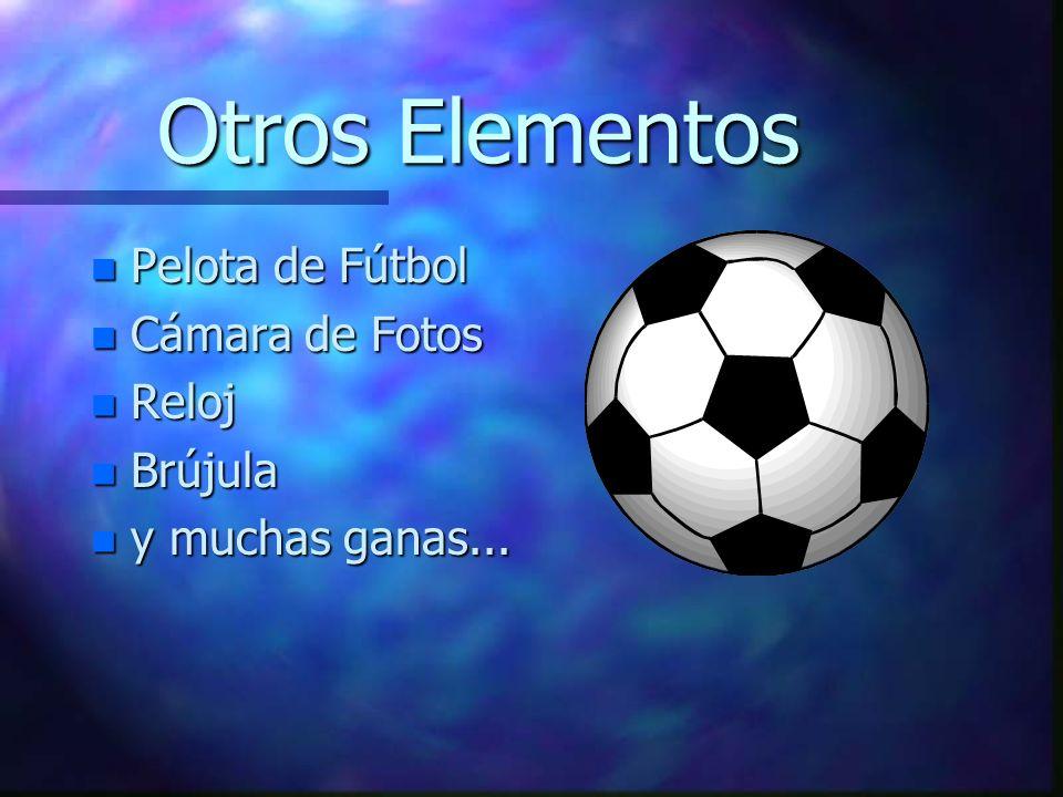 Otros Elementos Pelota de Fútbol Cámara de Fotos Reloj Brújula
