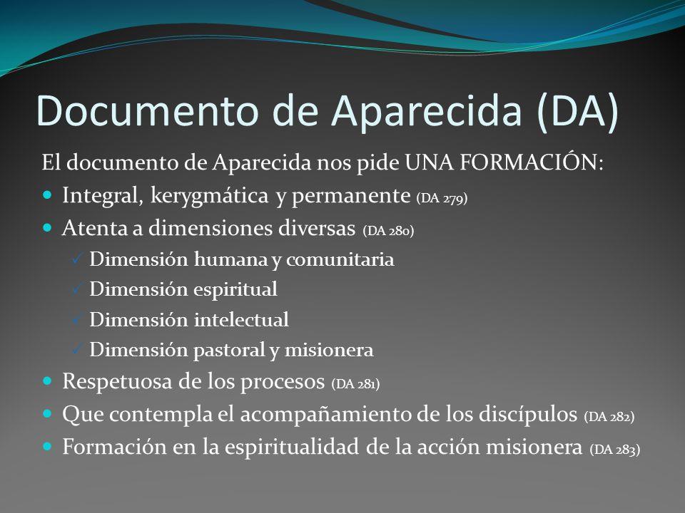 Documento de Aparecida (DA)