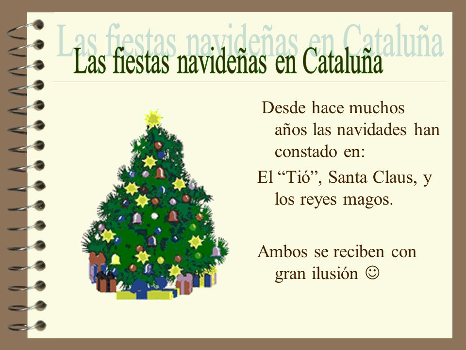Las fiestas navideñas en Cataluña