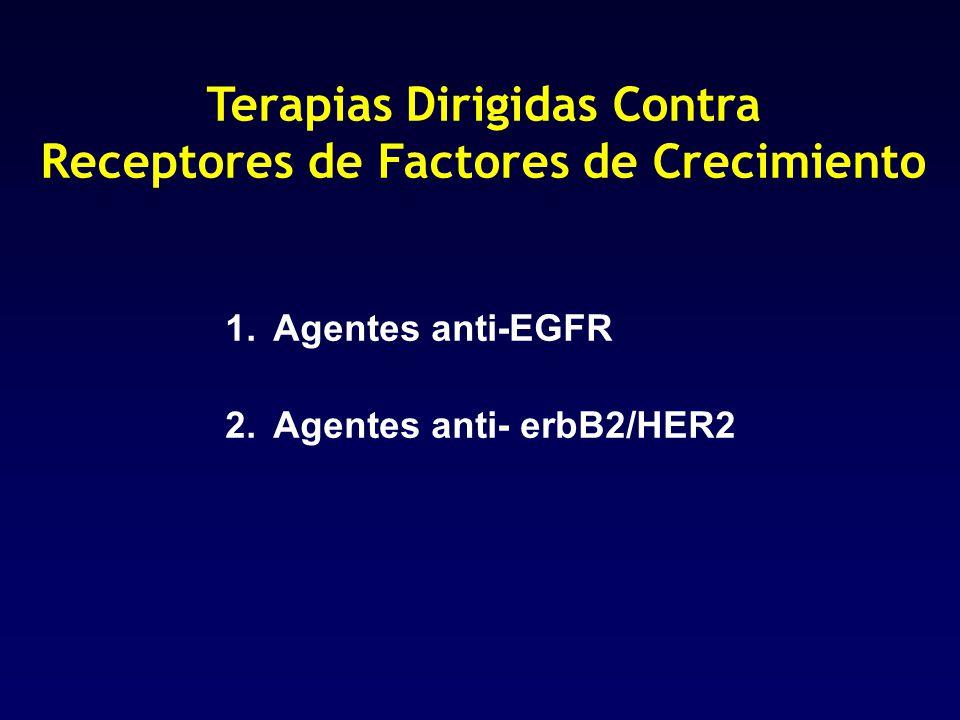 Terapias Dirigidas Contra Receptores de Factores de Crecimiento