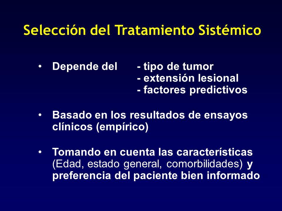 Selección del Tratamiento Sistémico