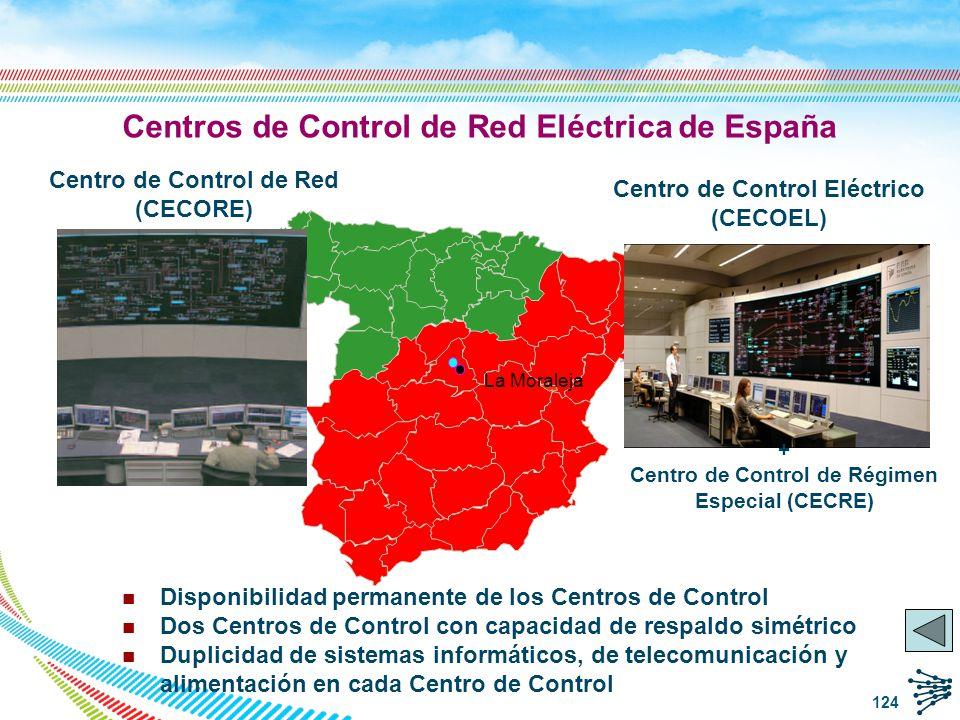 Centros de Control de Red Eléctrica de España