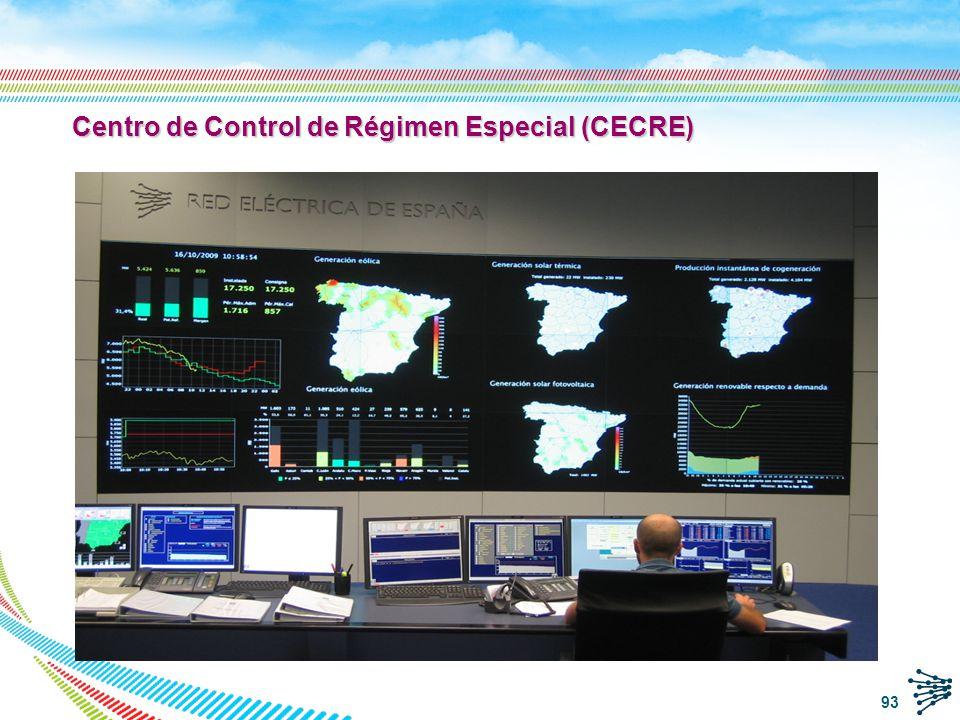 Centro de Control de Régimen Especial (CECRE)