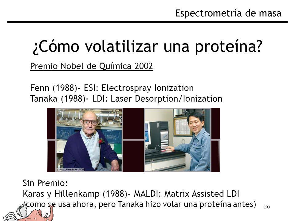 ¿Cómo volatilizar una proteína