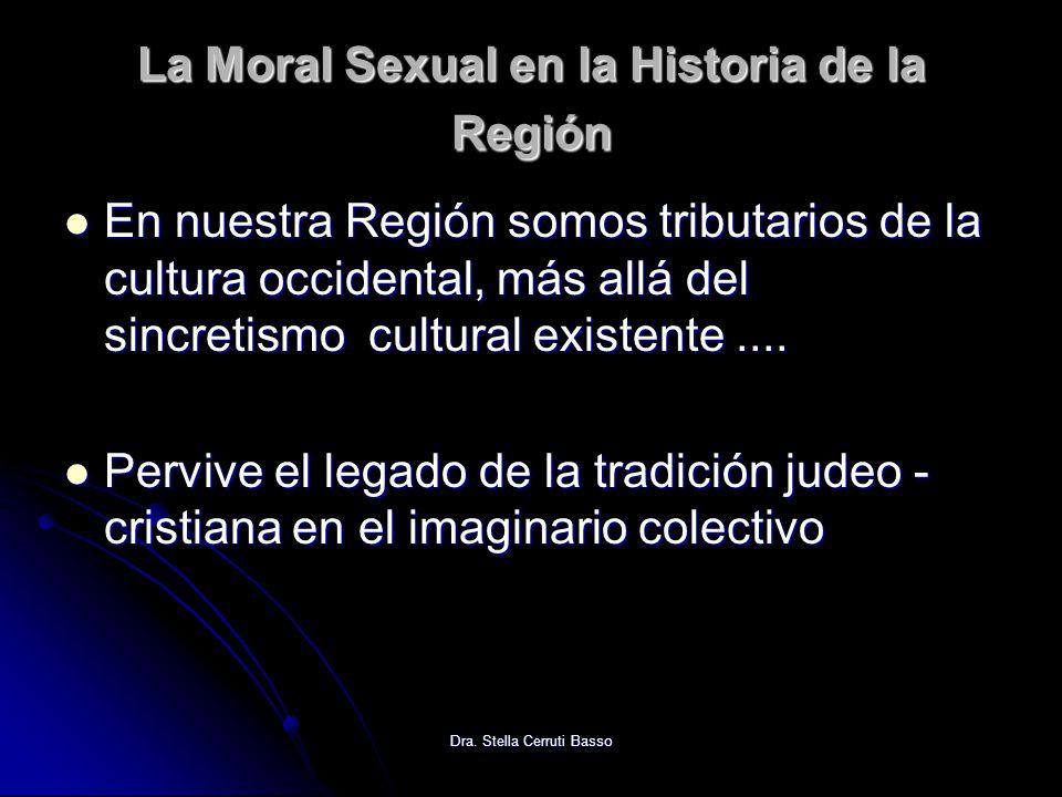 La Moral Sexual en la Historia de la Región
