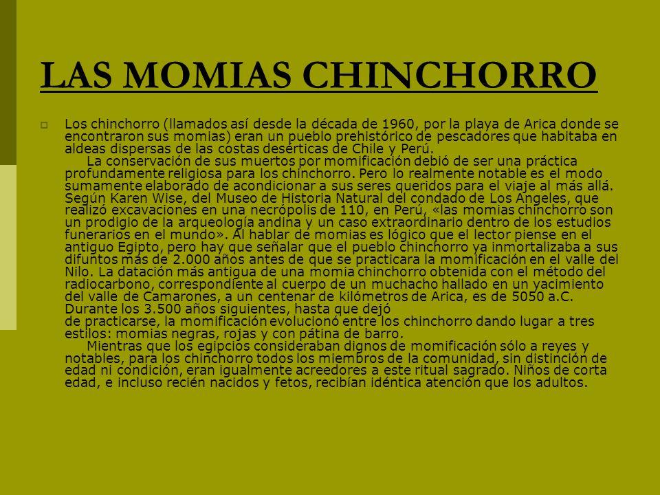 LAS MOMIAS CHINCHORRO