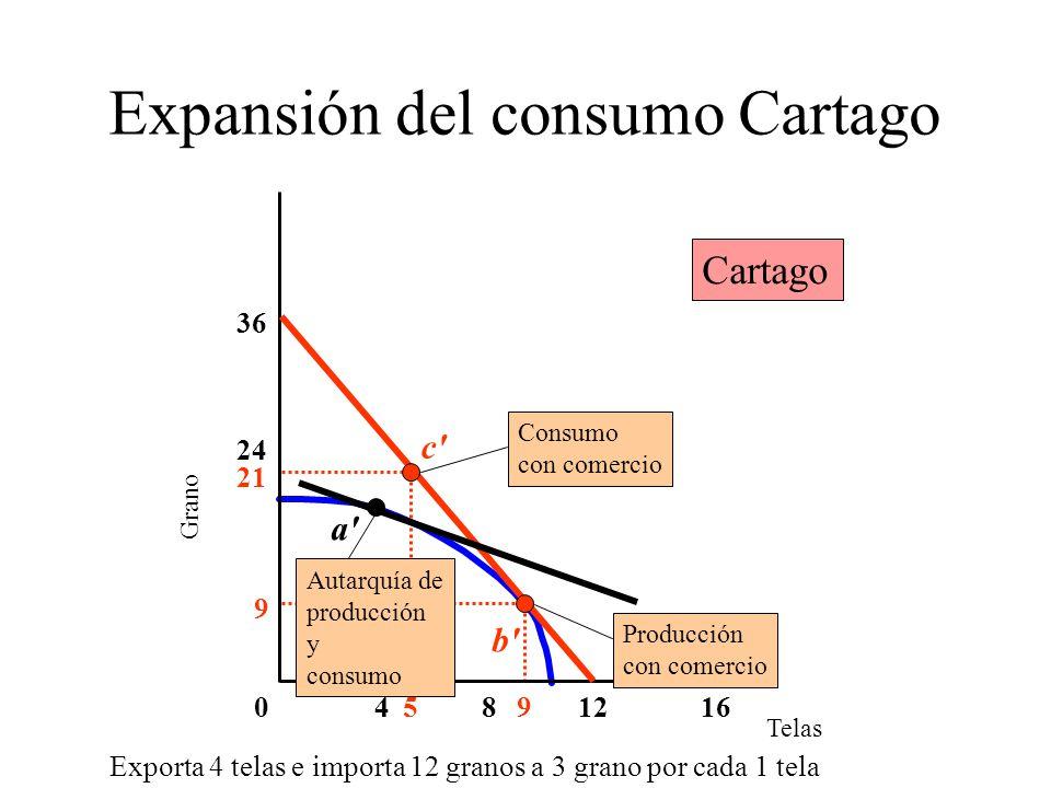 Expansión del consumo Cartago