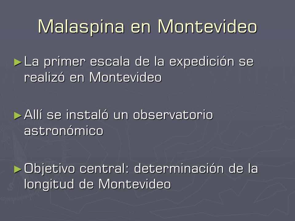 Malaspina en Montevideo