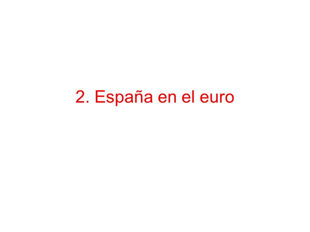 2. España en el euro