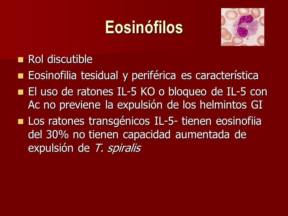 Eosinófilos Rol discutible