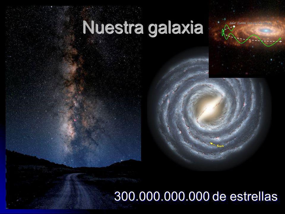 Nuestra galaxia 300.000.000.000 de estrellas