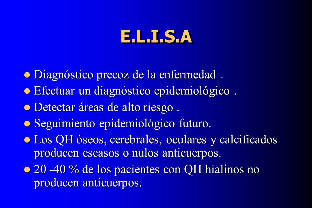 E.L.I.S.A Diagnóstico precoz de la enfermedad .