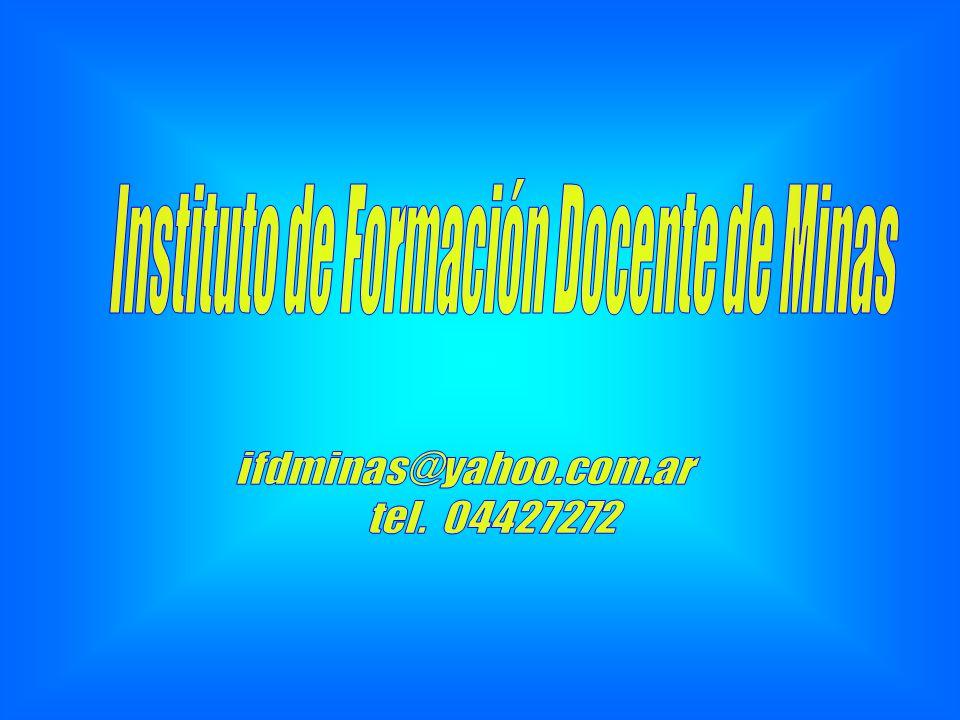 Instituto de Formación Docente de Minas