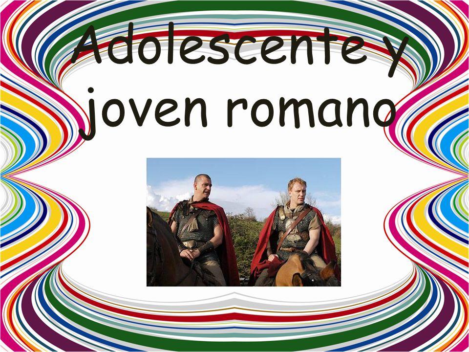 Adolescente y joven romano