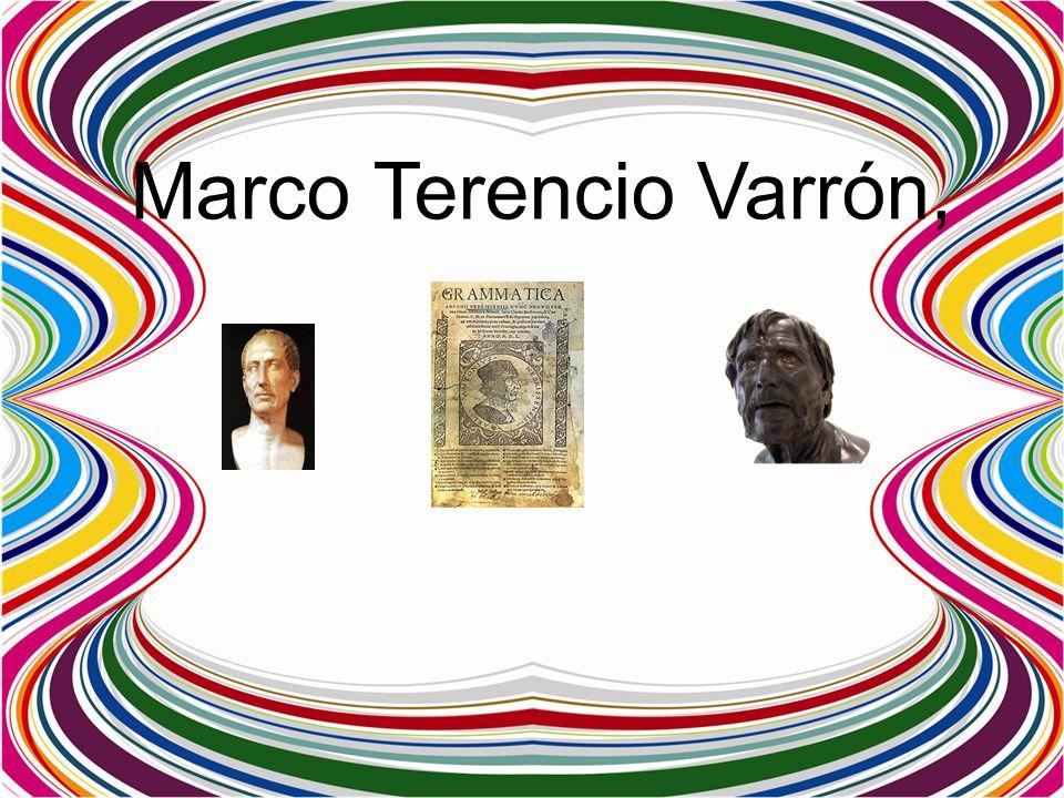 Marco Terencio Varrón,
