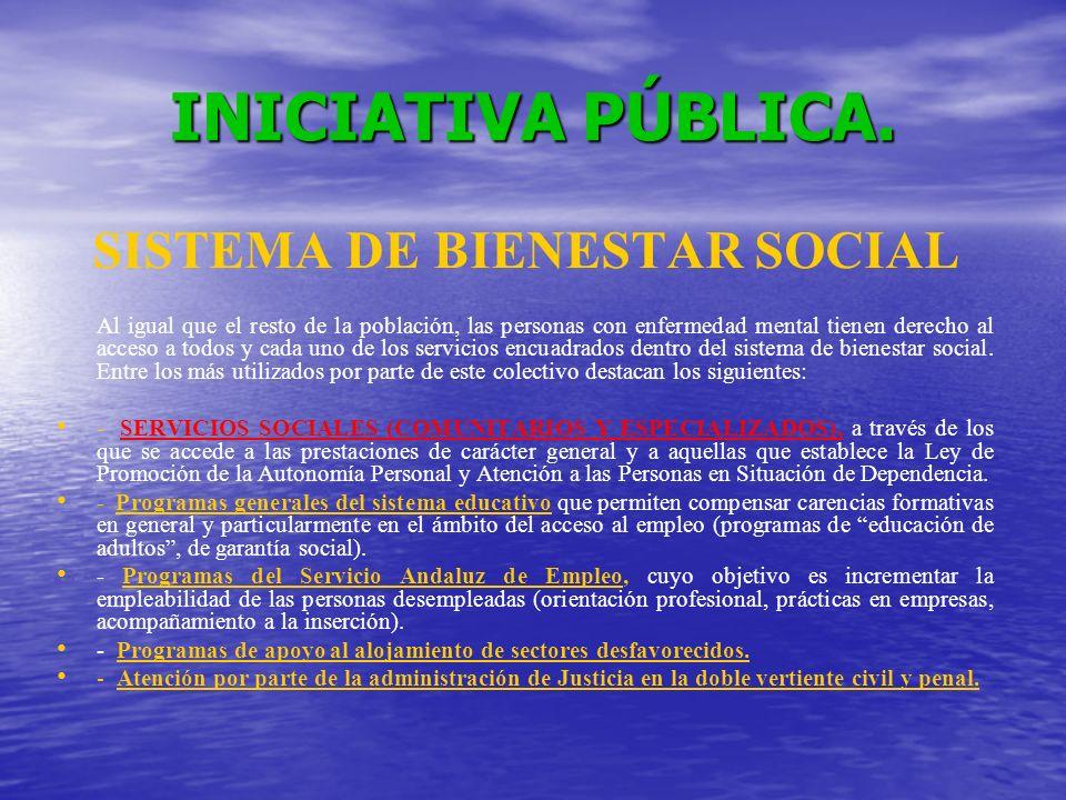 SISTEMA DE BIENESTAR SOCIAL