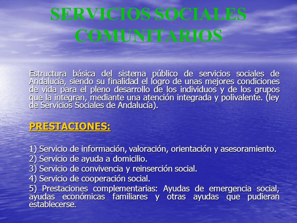 SERVICIOS SOCIALES COMUNITARIOS