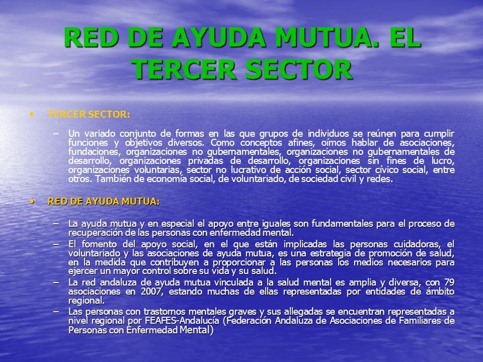 RED DE AYUDA MUTUA. EL TERCER SECTOR