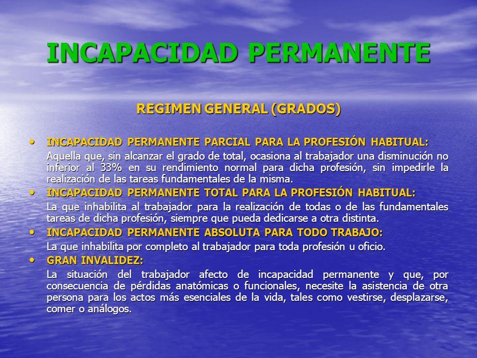 INCAPACIDAD PERMANENTE