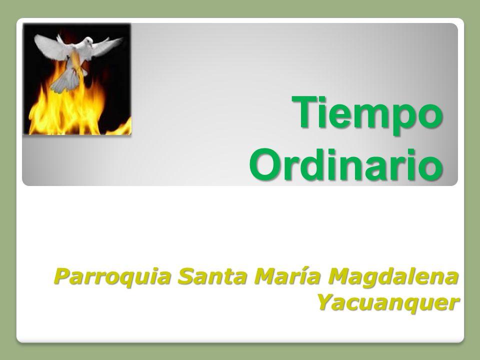 Parroquia Santa María Magdalena Yacuanquer
