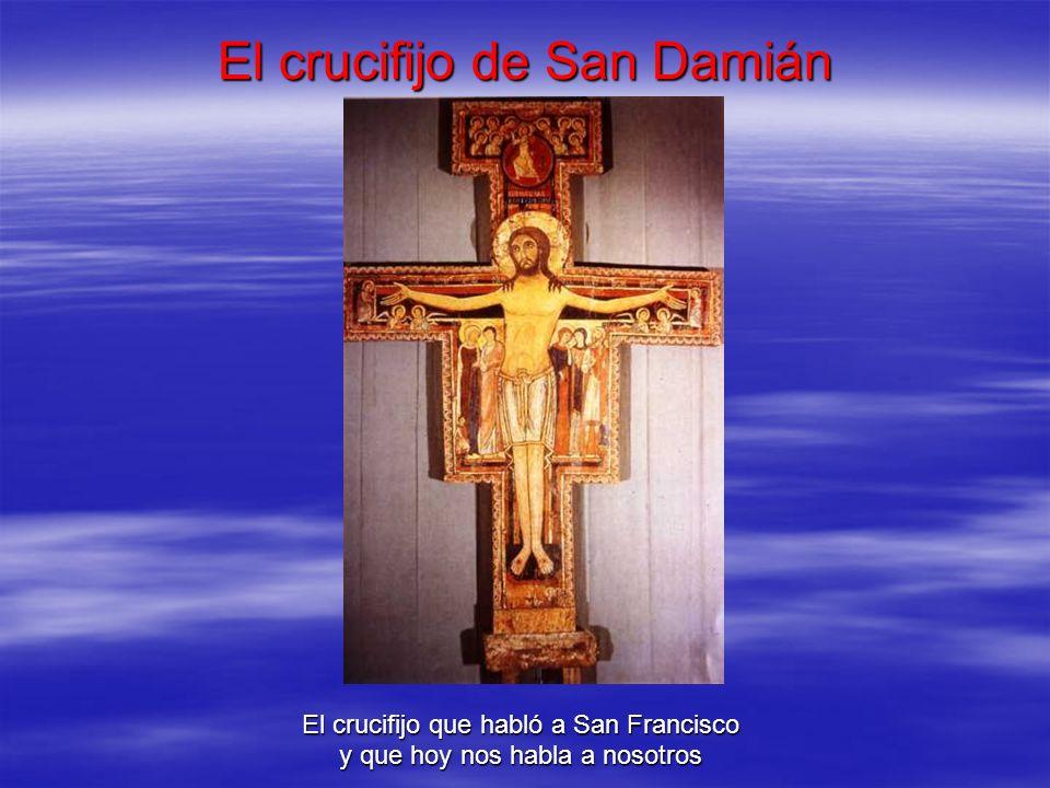 El crucifijo de San Damián