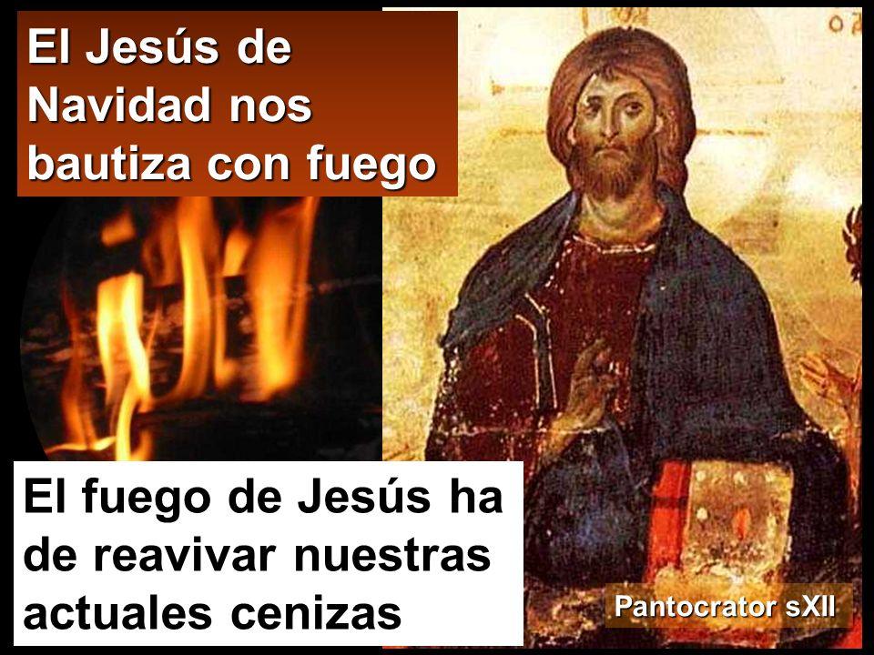 El Jesús de Navidad nos bautiza con fuego
