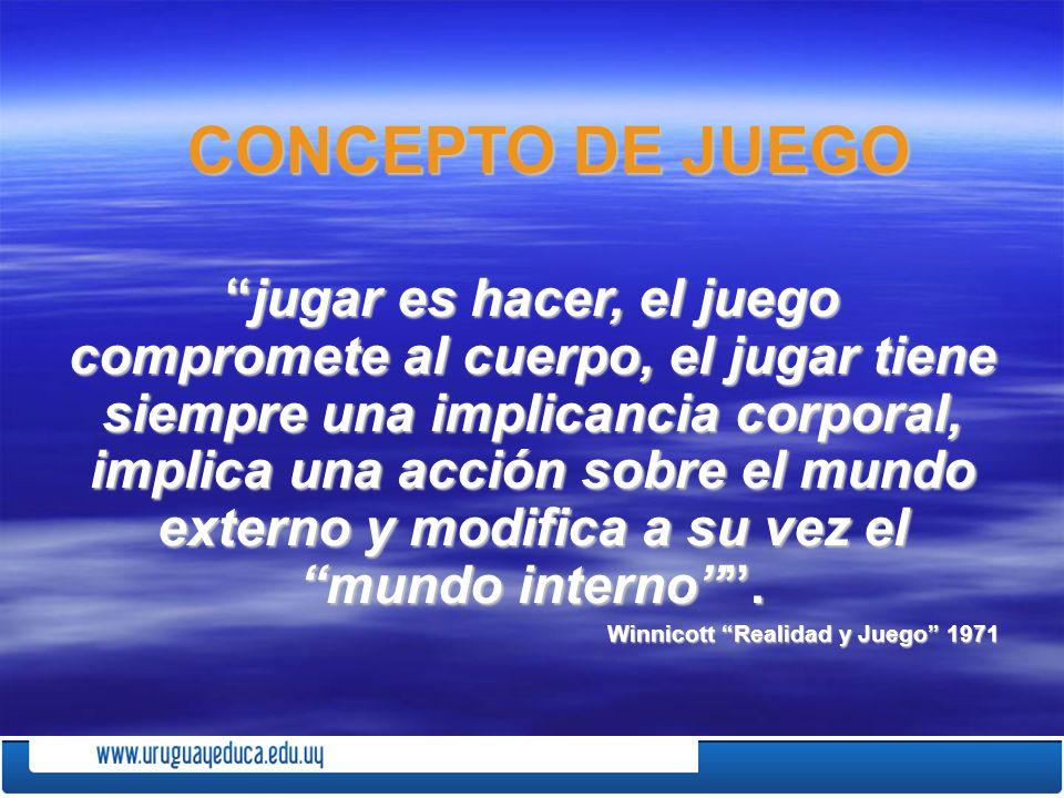 CONCEPTO DE JUEGO