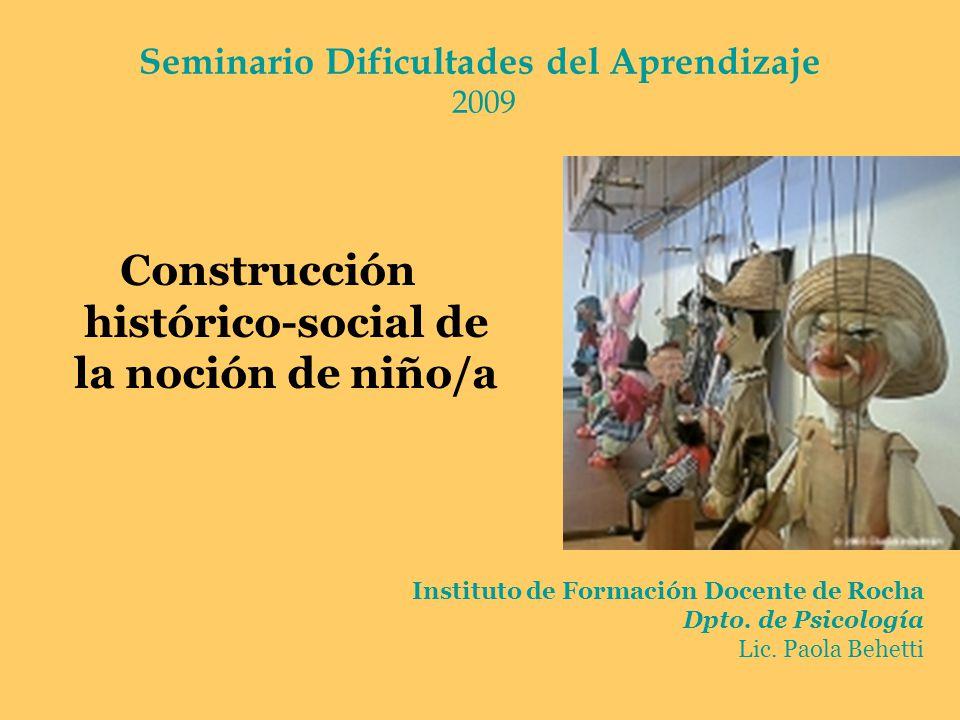 Seminario Dificultades del Aprendizaje 2009