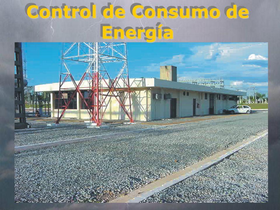 Control de Consumo de Energía