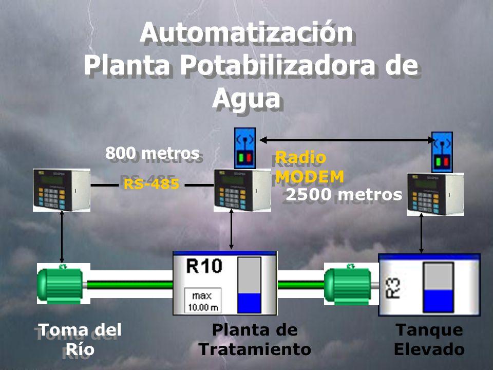 Automatización Planta Potabilizadora de Agua