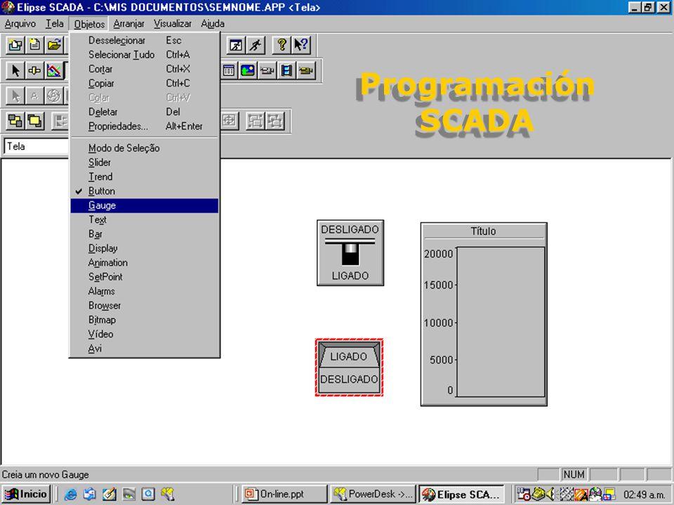 Programación SCADA