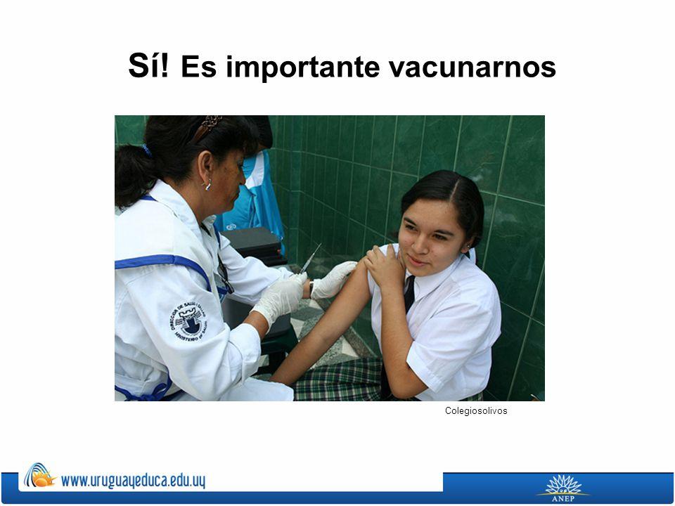 Sí! Es importante vacunarnos