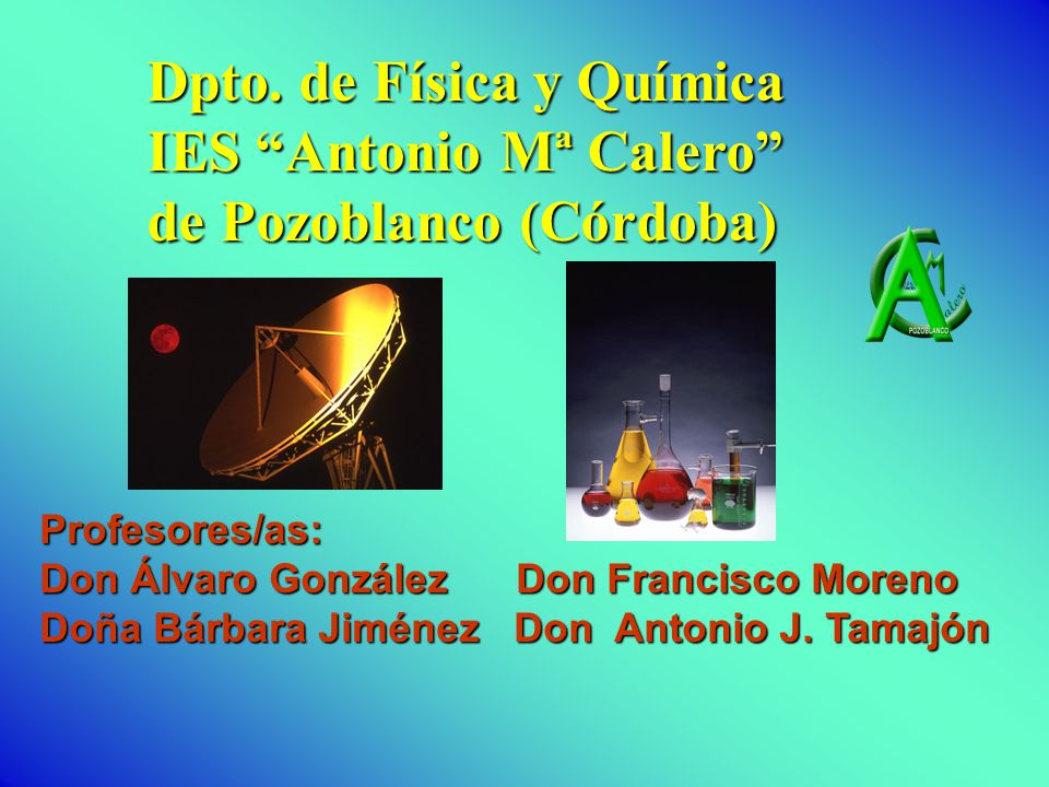 Dpto. de Física y Química