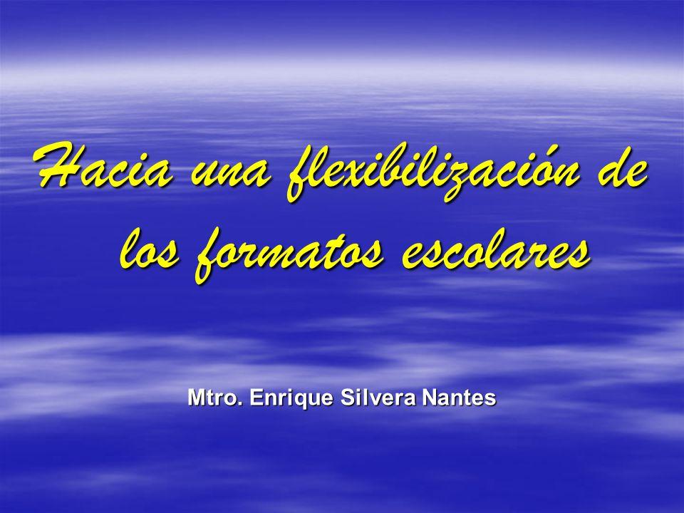 Mtro. Enrique Silvera Nantes
