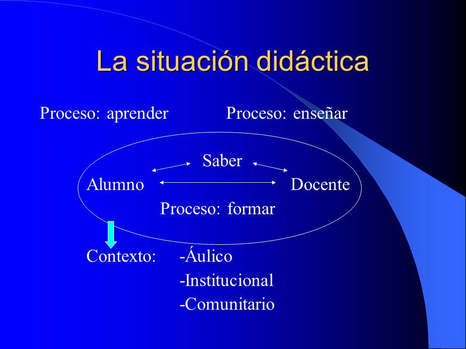 La situación didáctica